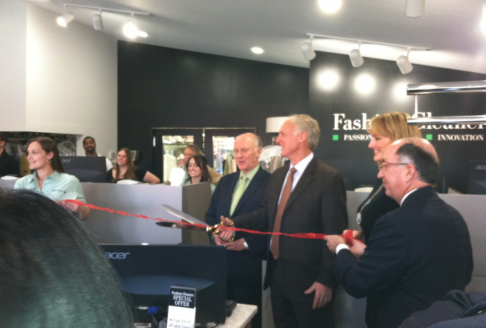 Fashion Cleaners Celebrates Grand Re-Opening