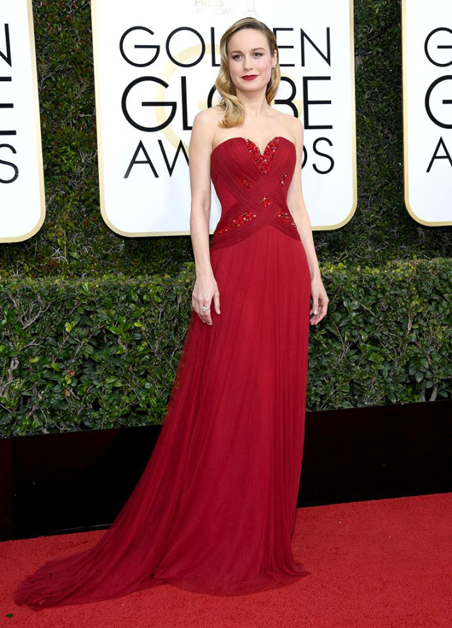2017 Golden Globes Looks - Brie Larson