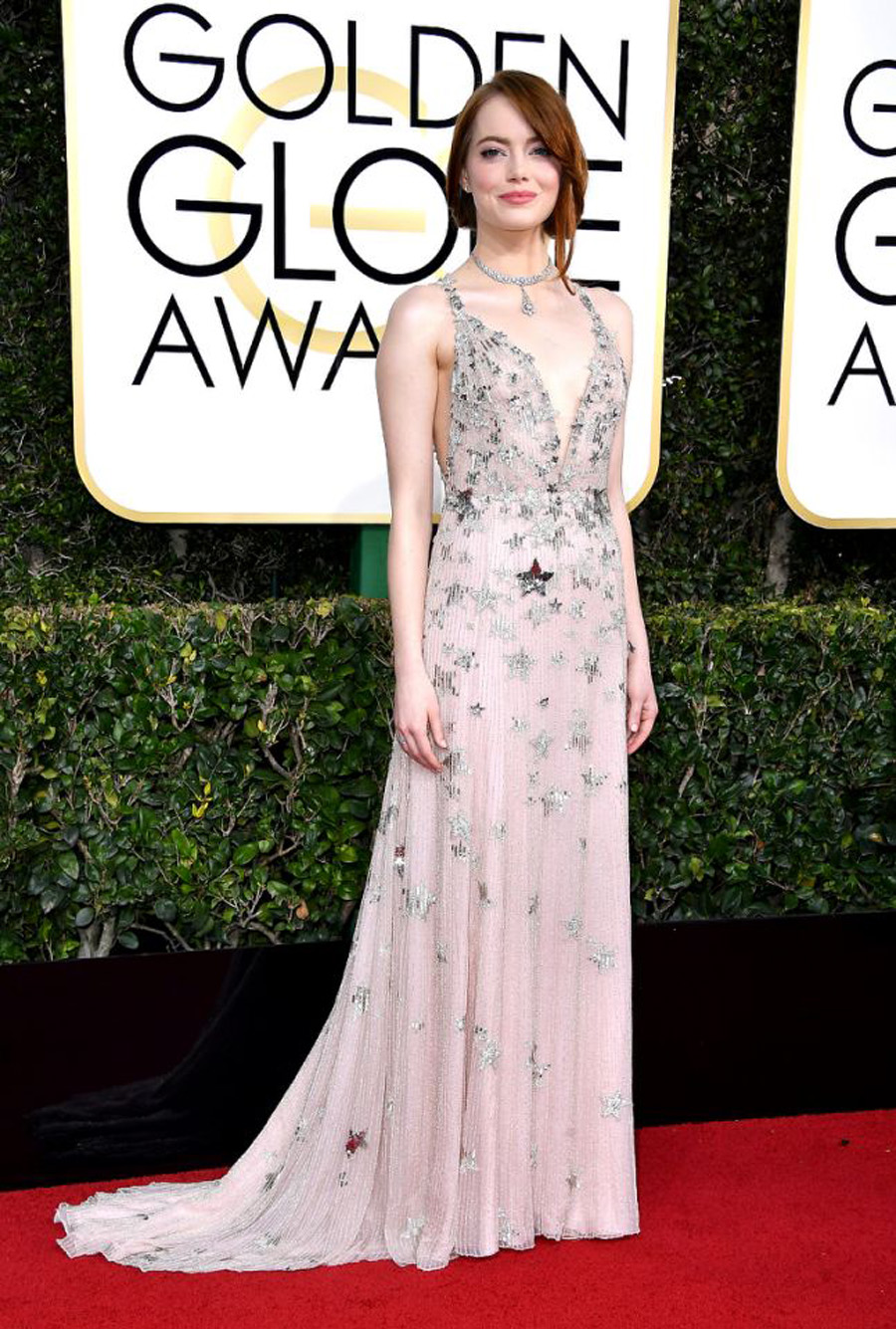 2017 Golden Globes Looks - Emma Stone