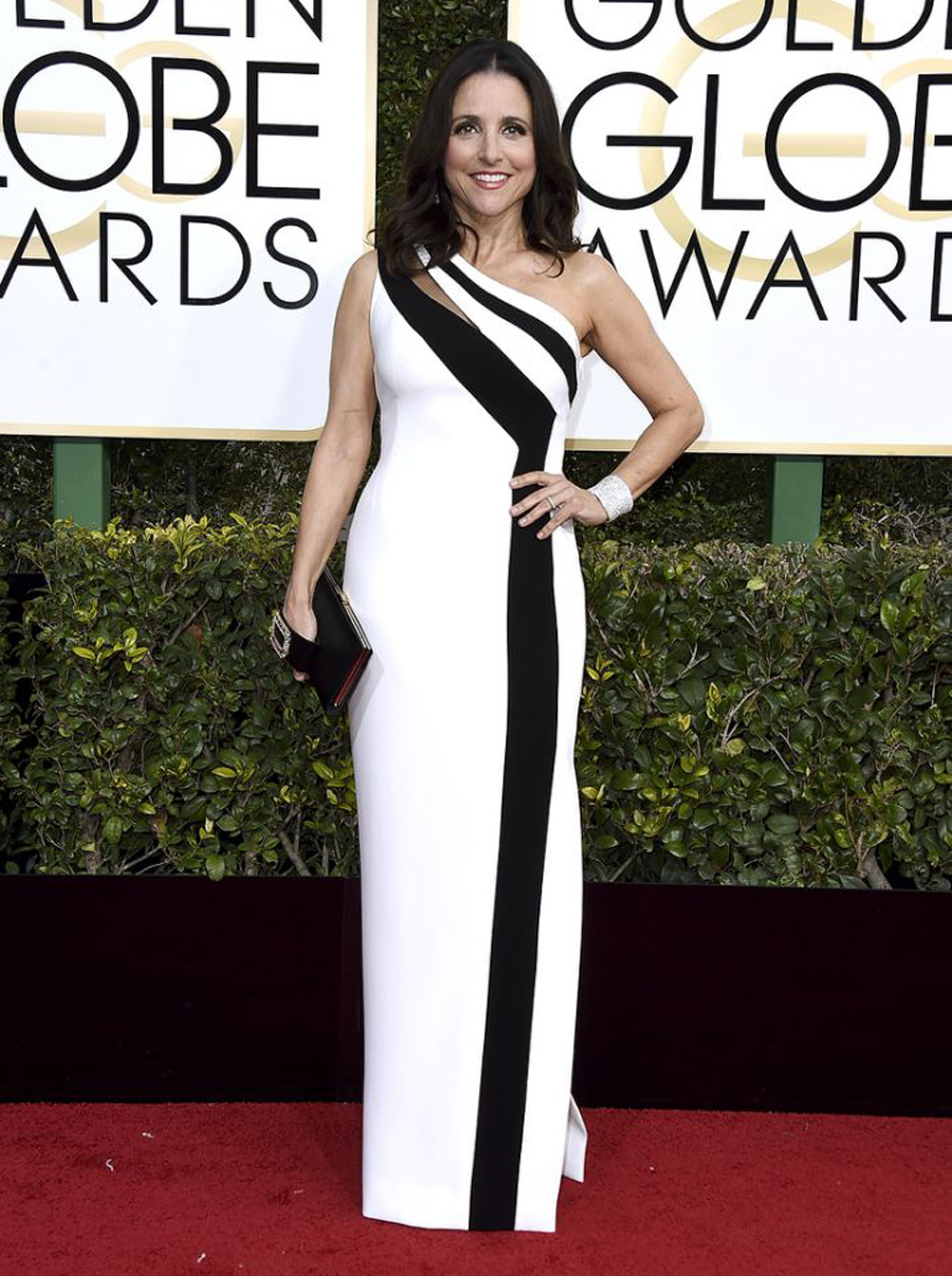 2017 Golden Globes Looks - Julia Louis-Dreyfus