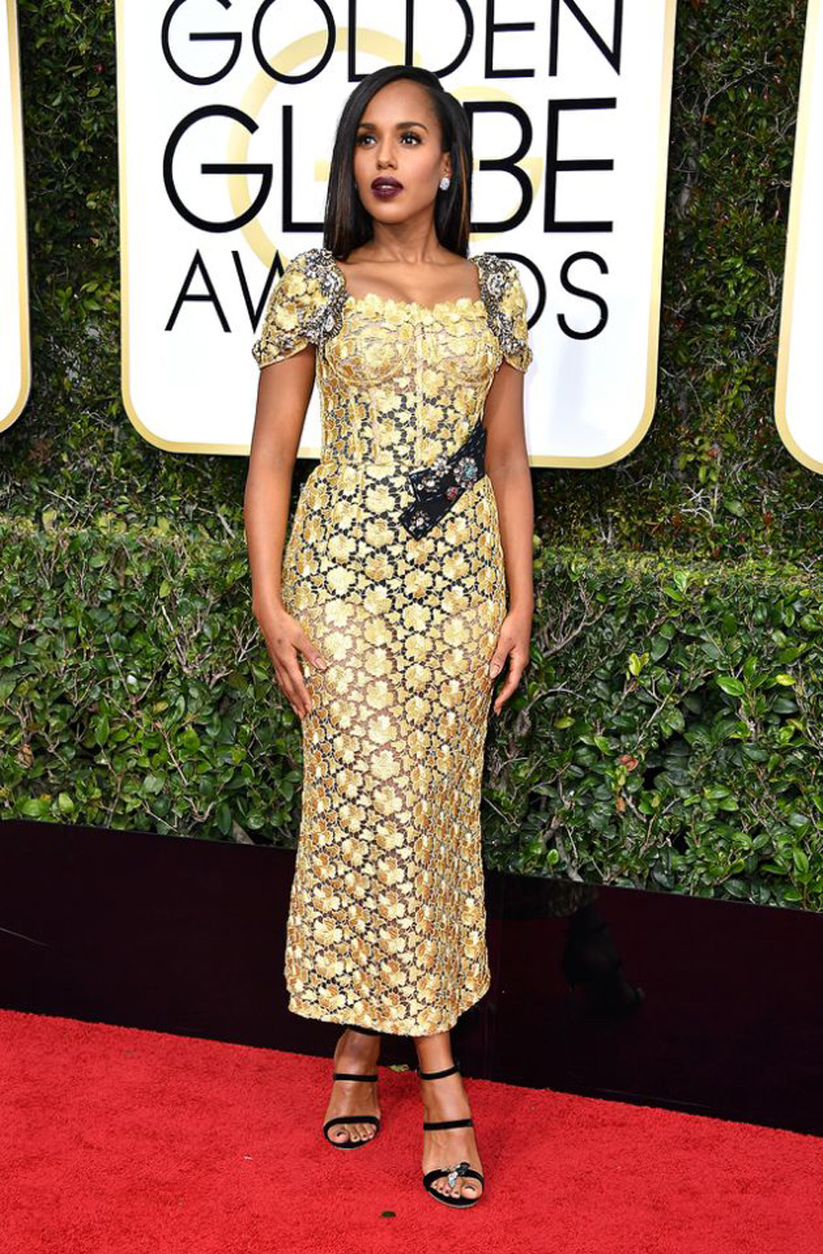 2017 Golden Globes Looks - Kerry Wahsington
