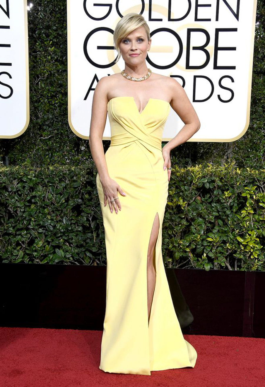 Red Carpet Favorites from 2017 Golden Globes - Reese Witherspoon