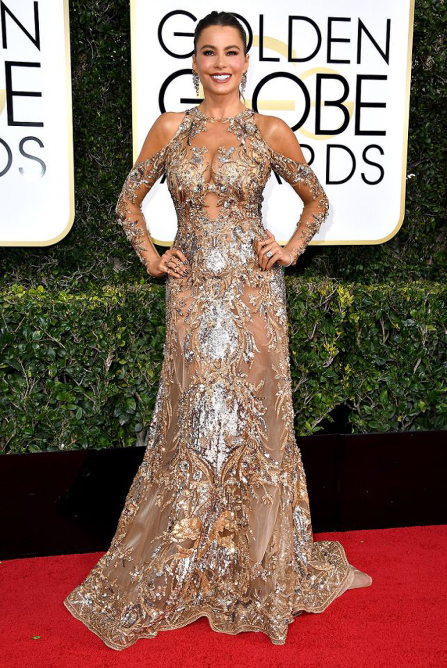 2017 Golden Globes Looks - Sofia Vergara