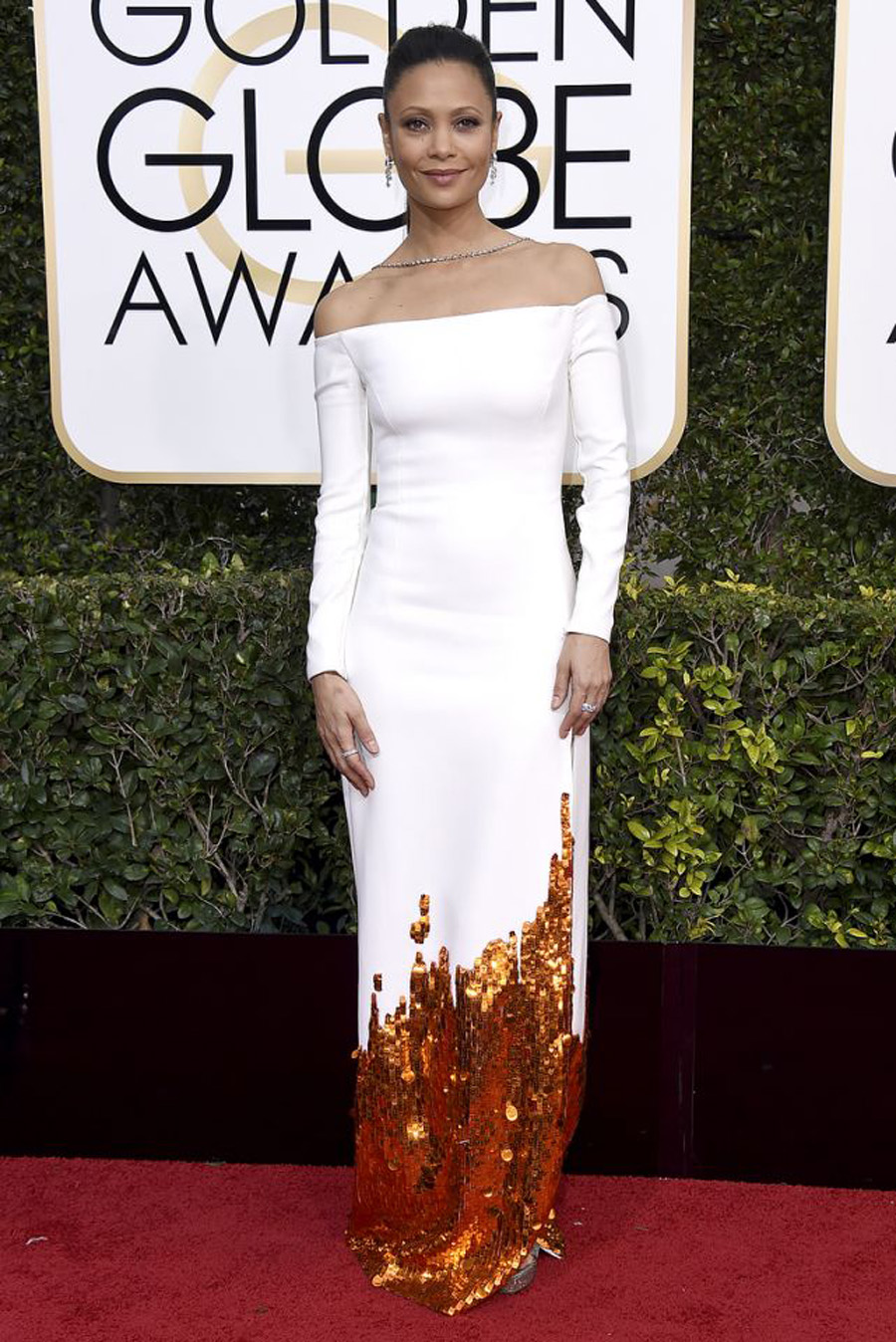 2017 Golden Globes Looks - Thandie Newton
