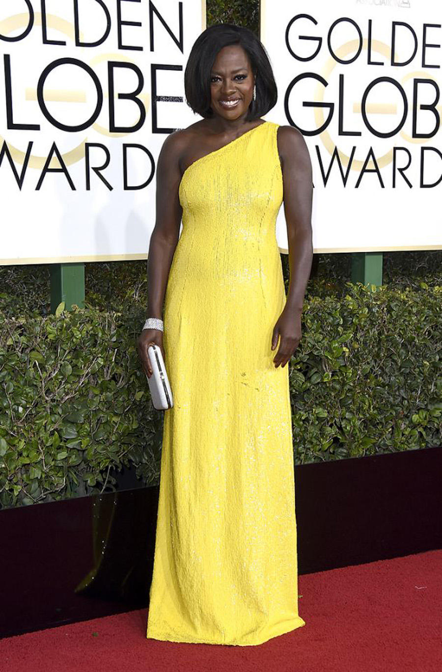 2017 Golden Globes Looks - Viola Davis