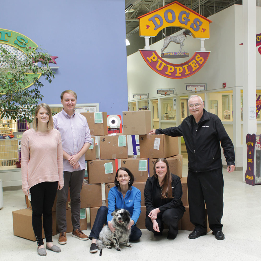 Fetch with Fashion - Fashion Cleaners First Delivery to Nebraska Humane Society-2