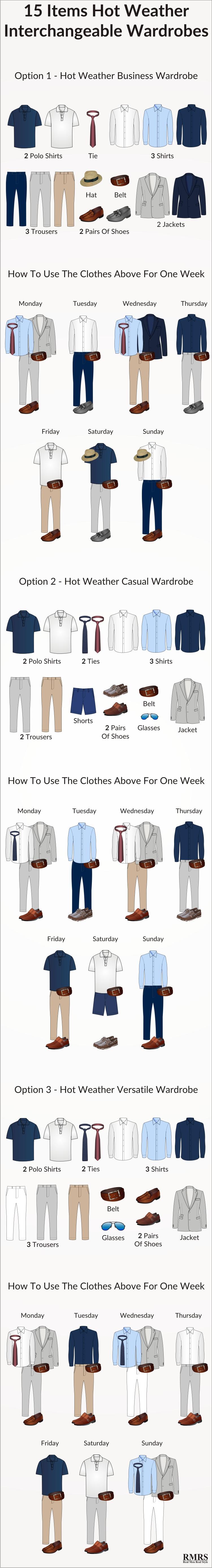 ot weather interchangeable wardrobe