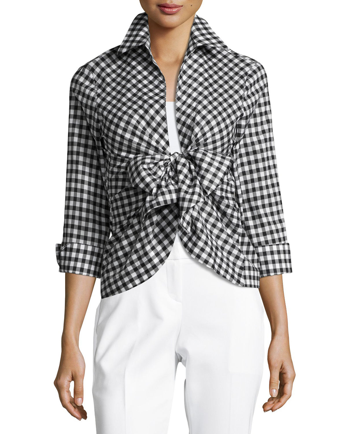 Structured Cotton Blouses For Spring Summer