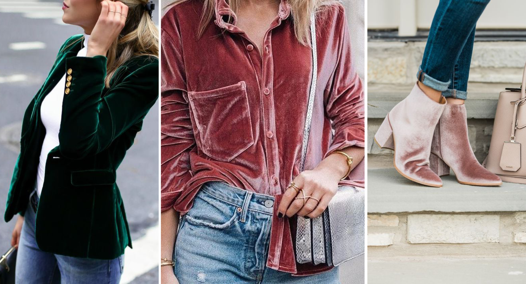 Wearing And Caring For Velvet Fashion Our Favorite 2017 Fashion Trend