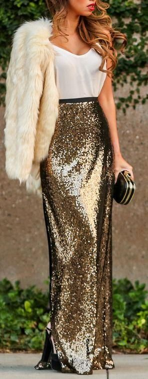 Wearing Sequins on NYE 3