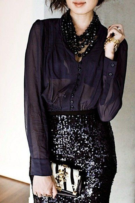 Wearing Sequins on NYE 21