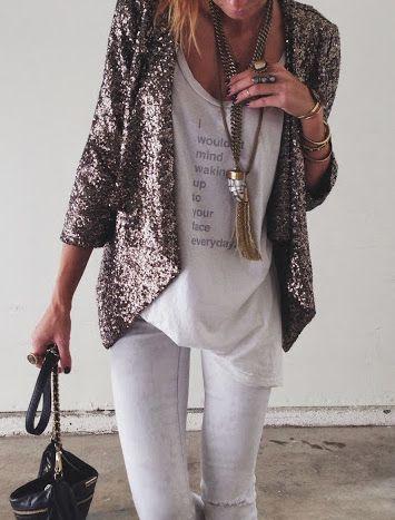 Wearing Sequins on NYE 24