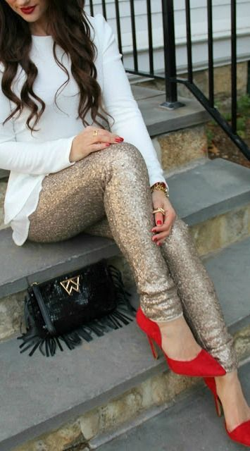 Wearing Sequins on NYE 12