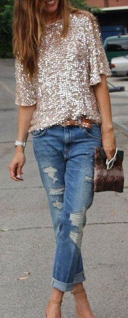 Wearing Sequins on NYE 9