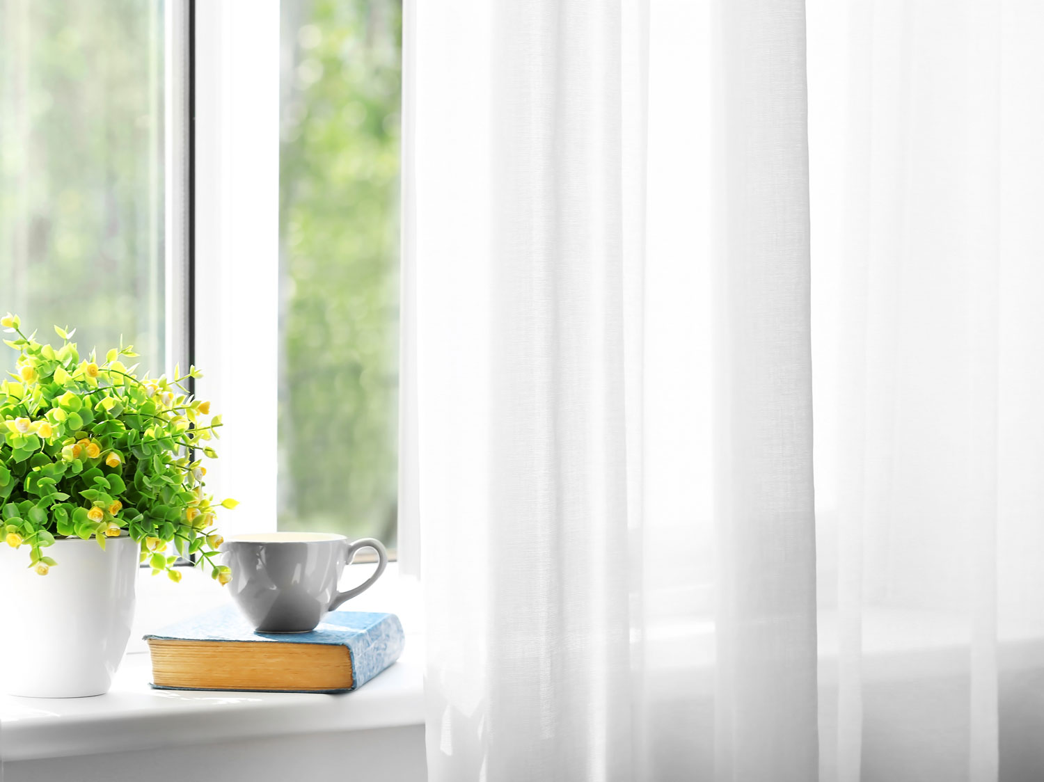 Caring for Curtains and Draperies
