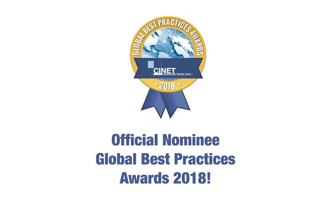 Confirmation of Nomination for the Global Best Practices Awards 2018