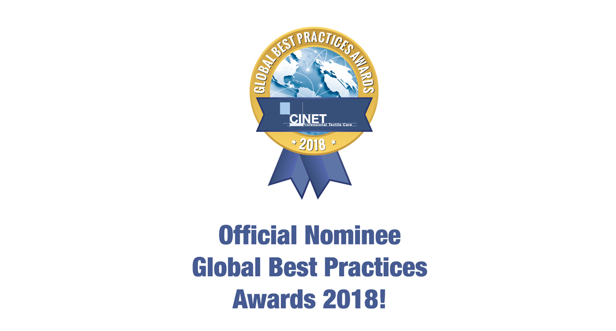 Fashion Cleaners Wins Nomination for CINET Sustainability Award