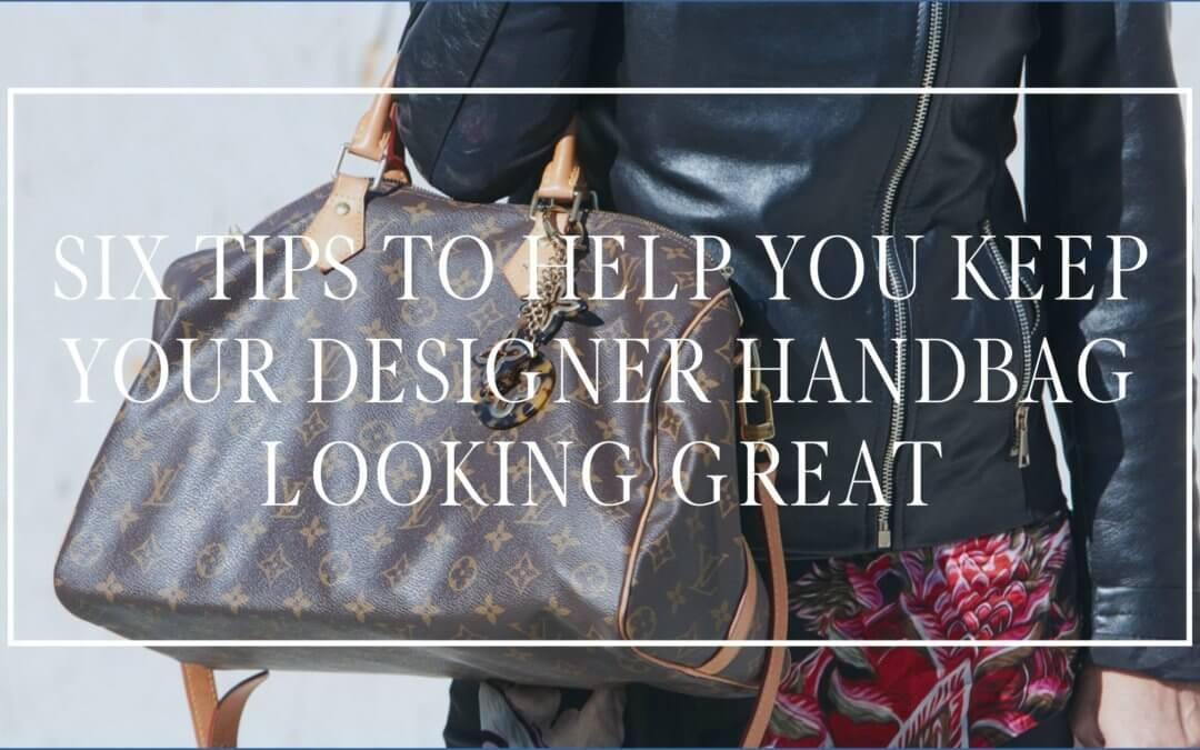 Designer Handbag Care