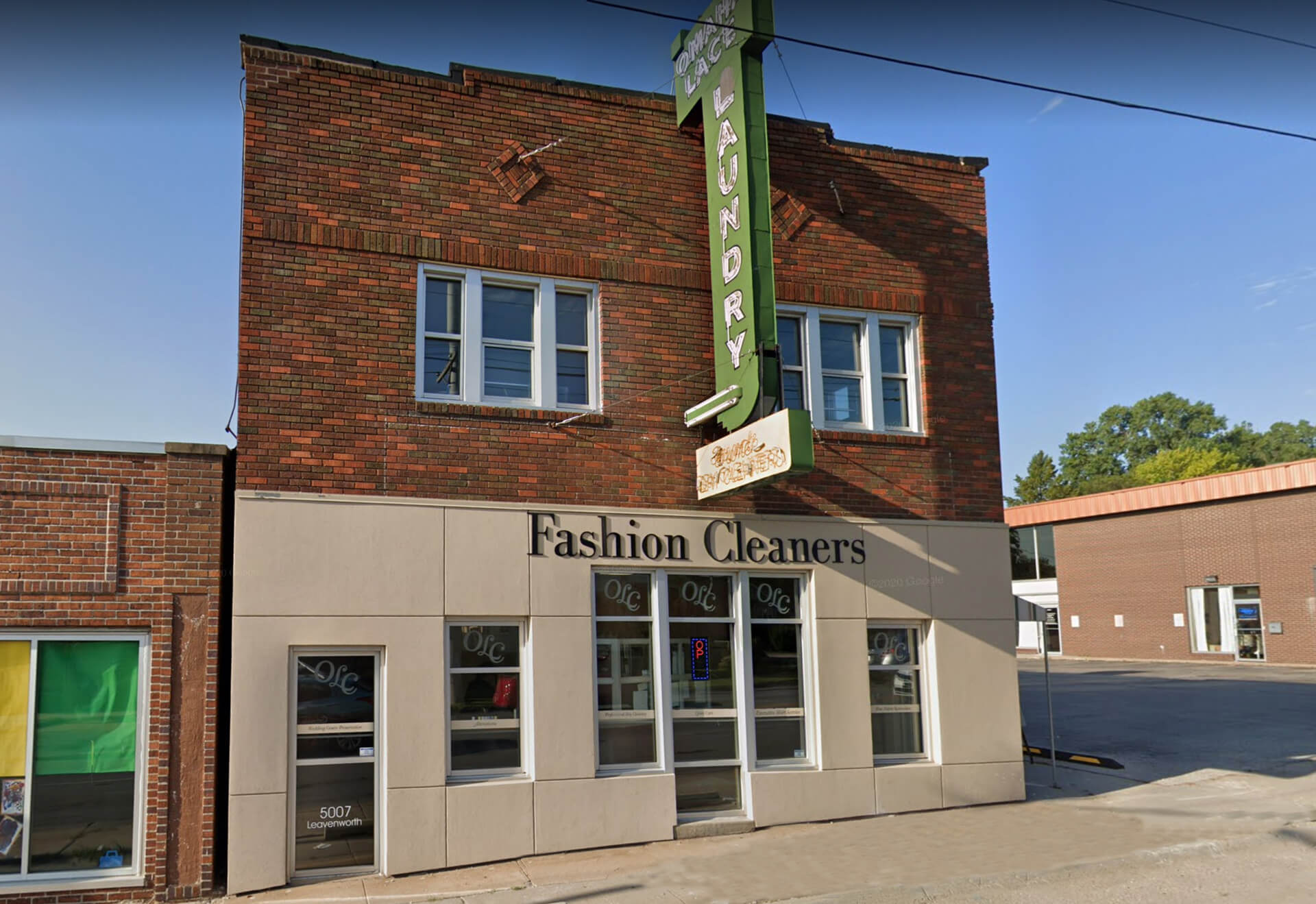 Fashion Cleaners and Omahal Lace Midtown Omaha Location